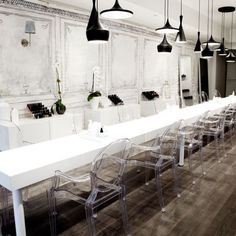 Tips Nail Bar, Toronto | Check out more #interior collections at salonmagazine.ca