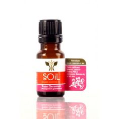 SOiL Rose Geranium Essential Oil