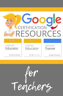 Google Certification Resources for Teachers! Free Teaching Resources, Teacher Resources, Teacher Tools, Teaching Strategies, Teaching Tips, Education Certificate, Technology Integration, Mobile Learning, Google Classroom