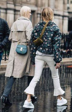it girl - trench-coat-bege-calca-flare - trenchcoat - meia estação - street style
