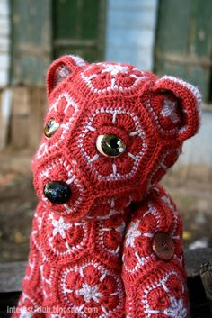 Ravelry: catrionaobrians Augustus Bear