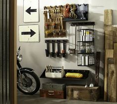 Furniture, Well Design Utility Room Storage On The Hallway With Men Tools And House Keeping Essentials: Several Features That Perfect To Put...