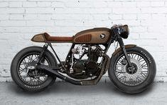 Honda CB 550 Cafe Racer Design by Benjamin Völlinger