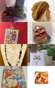 Every Colour in the Rainbow!  by Flowerfolk on Etsy--Pinned with TreasuryPin.com #PromotingWomen