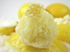 Tasty, refreshing lemon coconut macaroons from Lily Bloom's Kitchen