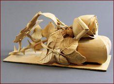 Nairi Safaryan ~ Untitled Rose Jewelry Box, 2010, Boxwood