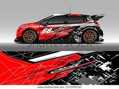 Portfolio di foto e immagini stock di zoulgrpc_wrap05 | Shutterstock Car Stickers, Car Decals, Vinyl Decals, Car Wrap Design, Buggy Racing, Montero Sport, Vinyl Wrap Car, Mini Bus, Car Tuning