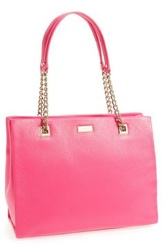 Pretty in pink | Kate Spade tote