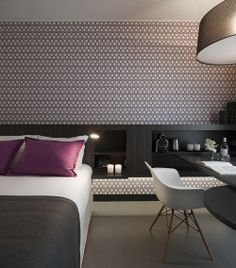 Gorgeous #interiors at the Inspira Santa Marta Hotel in #Lisbon, #Portugal