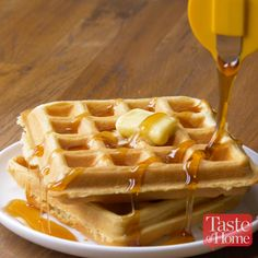 The Ultimate Light & Fluffy Waffles Recipe
