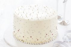 Engagement celebrations mean cake, so wow your guests with this impressive creation!