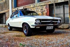 Check out crootz's Kashmir white 1970 Holden TORANA GTR ; featured on the Shannons Club. Holden Muscle Cars, Aussie Muscle Cars, Holden Torana, Australian Cars, Car Makes, General Motors, My Ride, Hot Cars, Custom Cars