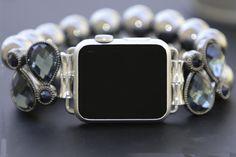 Apple Watch Band 38 mm Apple Watch Band 42 mm Apple Watch Band Apple Watch Band Silver Pearl Apple Watch Band 38 mm Woman iWatch Bracelet