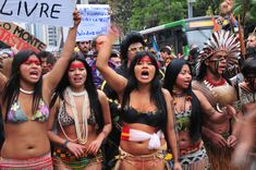 Indigenous tribes have been protesting against the project for years ...