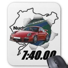 2009 GT3 MOUSE PAD