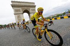 Chris Froome se consagró campeón del Tour de Francia #Ciclismo #Deportes