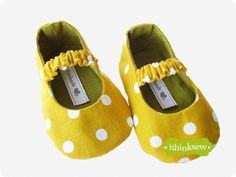 Juliet Baby Mary Janes PDF Pattern