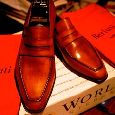 Warhol Penny Loafers by Berluti #mode #style #fashion #fastlife #goodlife #luxury #welldressed #dresstoimpress #lifestyle
