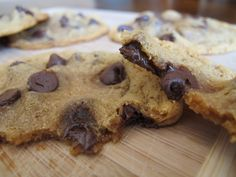 easy Gluten Free Peanut Butter Chocolate Chip Cookie recipe