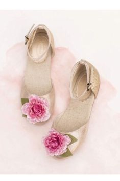 Joyfolie Hailey Ballet Flat - I love these but think they are probably too girly for my little one. They'd be great for a wedding or party! #aff affiliate
