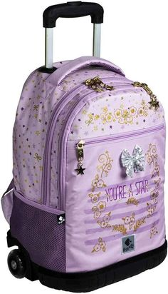 Busquets, Suitcase, Backpacks, Stars, Wheeled Backpacks, School Backpacks, Sterne, Backpack, Suitcases