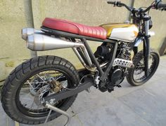 Honda NX670 Scrambler by 2Motors