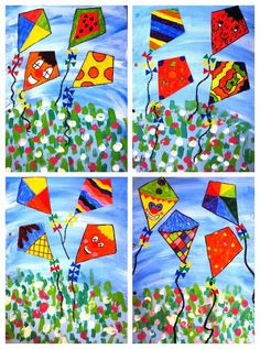 Float of estels this is the second album cover of the students of 3 Art Lessons For Kids, Art Lessons Elementary, Art For Kids, Elementary Education, Classroom Art Projects, Art Classroom, Kindergarten Art, Preschool Art, Spring Art Projects
