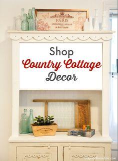 Shop for country cottage decor! #eBay #spon #eBayguide #countrycottage #country #cottage #cottagedecor #interiordesign
