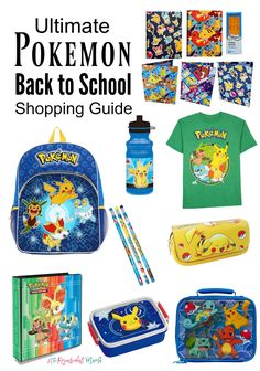 Pokemon School Suppl
