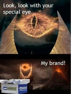 Look with your special eye