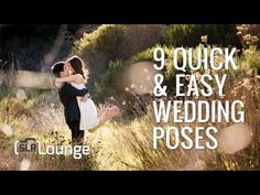 9 Quick and Easy Wedding Poses  more on http://www.slrlounge.com/9-quick-and-easy-wedding-poses/