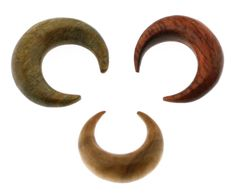 Septum Pincher - Wood 3 Pc.    For $40, you get three wood labrets-- one Bloodwood, one Olivewood, and one Argentine Lignum Vitae pincher. It costs a bit less than buying them all separately.. I want this pack in 4g now that my septum is finally there! The diameters range between 8-9.5mm, perfect wearable size!