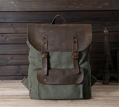 The perfect combination of leather with washed canvas,Shoulder portable multi-purpose,Adjustable shoulder strap.【$59】