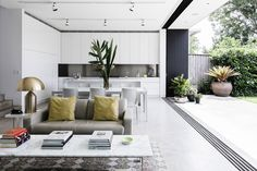 Discover The Different Italian Living Room Styles Living Room Styles, Living Spaces, Living Area, Duplex Design, House Design, Open Plan, Interior Architecture, Interior And Exterior, Australian Architecture
