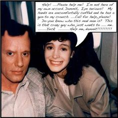 One of Sean Young's Polaroids, with James Woods.
