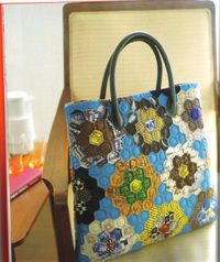 Hexagon bag by Suzuko Koseki