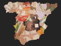 """Mapa""   Pintura de Nacho  Angulo   Flecha"