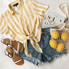 Cute Summer Outfits, Cute Casual Outfits, Spring Outfits, Hot Weather Outfits, Cute Summer Clothes, Vintage Summer Outfits, Casual Summer, Beach Clothes, Summer Dresses