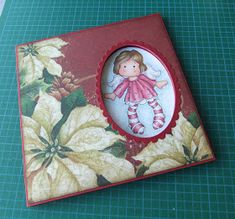 """From My Craft Room: Peek-A-Boo Card Tutorial (6"""" or 15cm square)"""