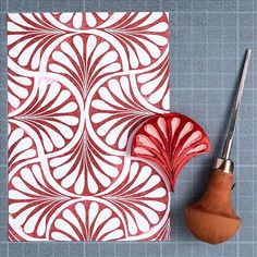 printmaking ideas simple Playing catch up for - Day 30 . Diy Stamps, Handmade Stamps, Motifs Textiles, Stamp Carving, Fabric Stamping, Linoprint, Ideias Diy, Create Photo, Fabric Painting