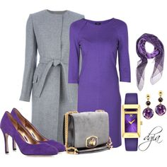 """Purple"" by dgia on Polyvore"