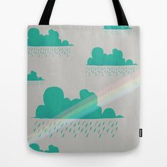 Rain Tote Bag by Frostwindz - $22.00