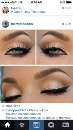 Bridal makeup-maybe too much for my eyes?