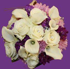 Daisies, Roses and Calas