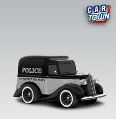 Dodge Panel Pickup 1936 Police