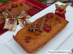 Cake de Noël à l'orange Coups, Waffles, French Toast, Orange, Breakfast, Noel, Greedy People, Recipes, Morning Coffee