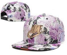 0e53b32b516 Men s Nike Futura True Nike Gold Metal Check   Logo Snapback Hat - Full  Floral Custom