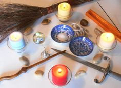 Casting a Circle, How to for Beginner Wicca, Witch, and Wiccan Instant Download: $1.00 This document gives simple instructions for the basics of what you need to do to cast your own circle.