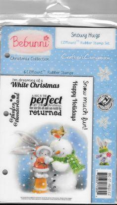 Bebunni stamp set  Snowy Hugs   NEW  by CynthiasCraftingNook