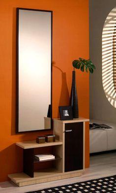 Recibidor 2 muebles pinterest circles 2 and wall decor - Recibidores pequenos modernos ...